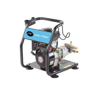 2.5HP High Pressure Washer , 250Bar Portable 1750 PSI Power Washer Gas Engine